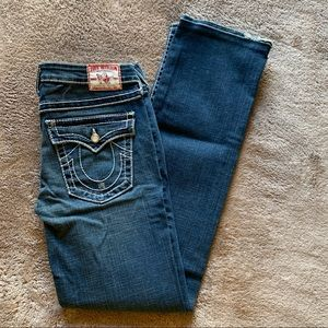 True Religion Jeans with Silver Accents